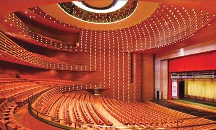 天津文化中心大剧院歌剧厅内景